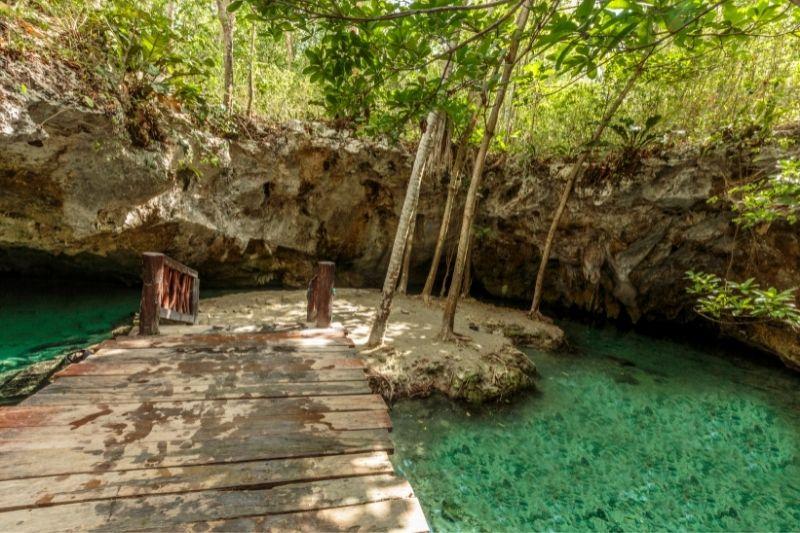Grand Cenote Platform tulum