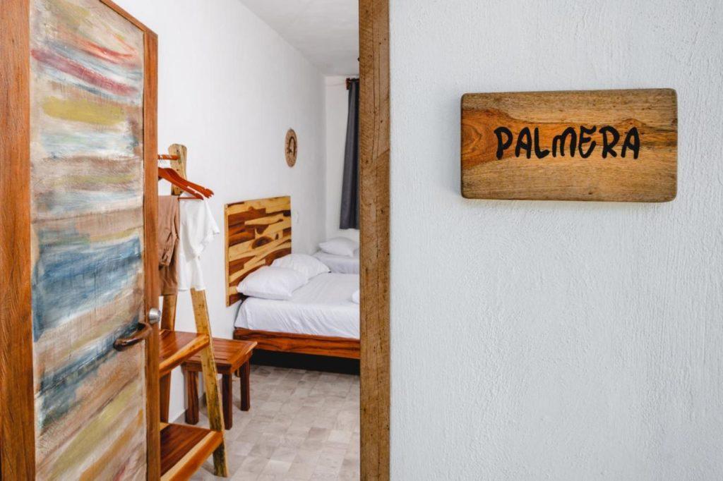 Casa Cuyo Hotel room entrance