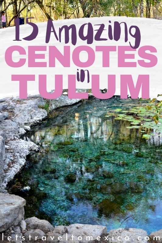 cenote near tulum