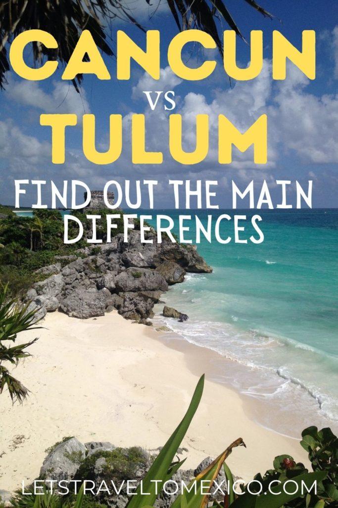 Cancun vs Tulum 1 1