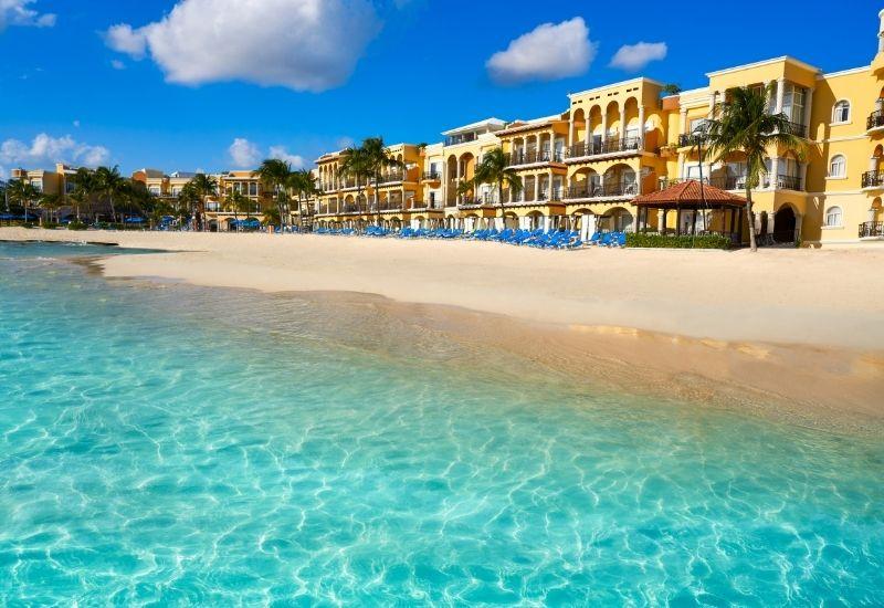 Playa del Carmen hotel area