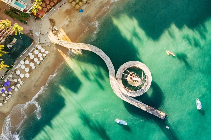 Puerto Vallarta Aerial view