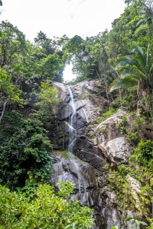 Yelapa Waterfalls close up