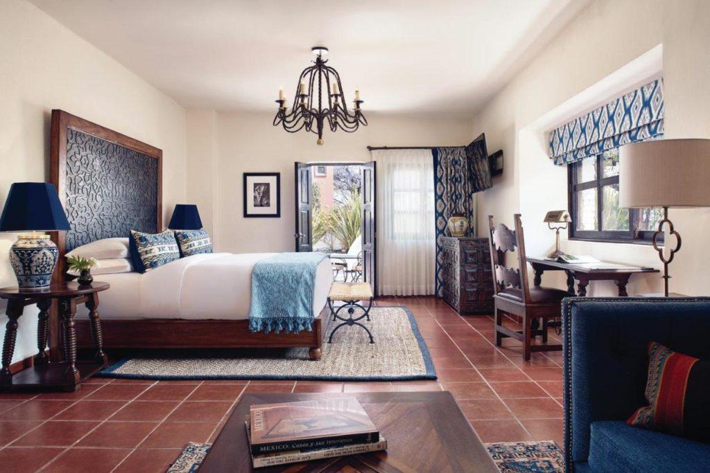 Belmond hotel in San Miguel de Allende room