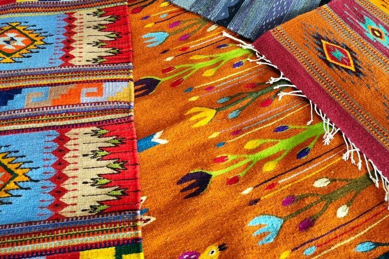 Oaxaca wool carpets
