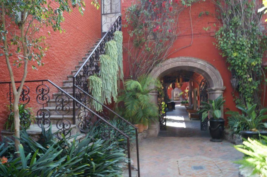Casa Luna Hotel Boutique in San Miguel de Allende - entrance