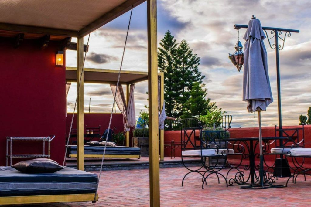Hotel Casa Oratorio Terrace sunbeds