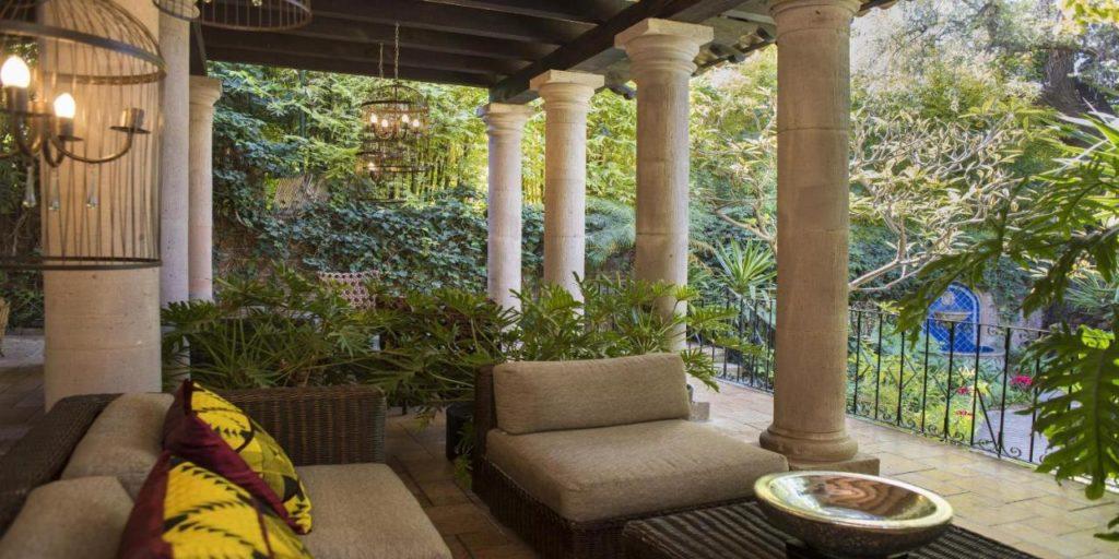 Hacienda el santuario patio
