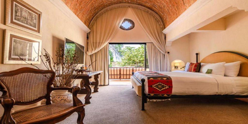 Hacienda el Santuario suite